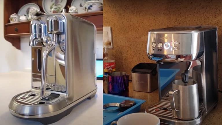 Breville Bambino Plus vs Nespresso Creatista: Which Is The Best Coffee Maker?