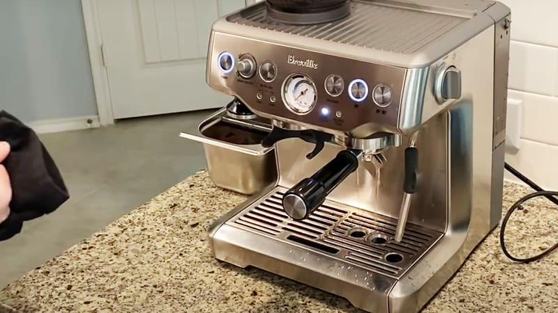 Breville Barista Express Cleaning