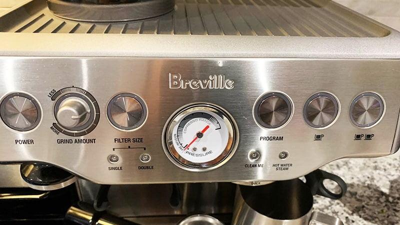 Customizable Settings Breville Barista Express