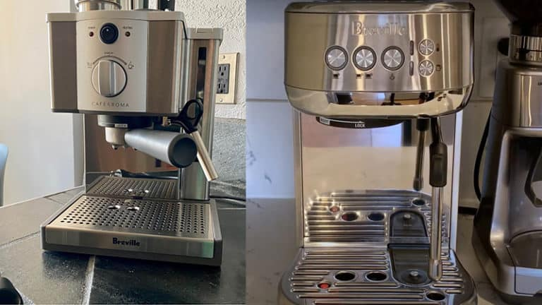 Breville Café Roma vs Bambino Plus: Which Is Better & Why?