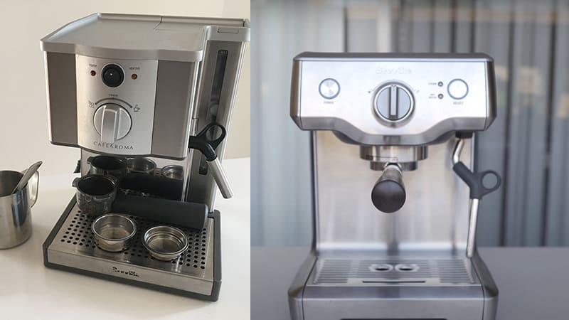 Breville Cafe Roma vs Duo Temp Pro: What To Buy Next?