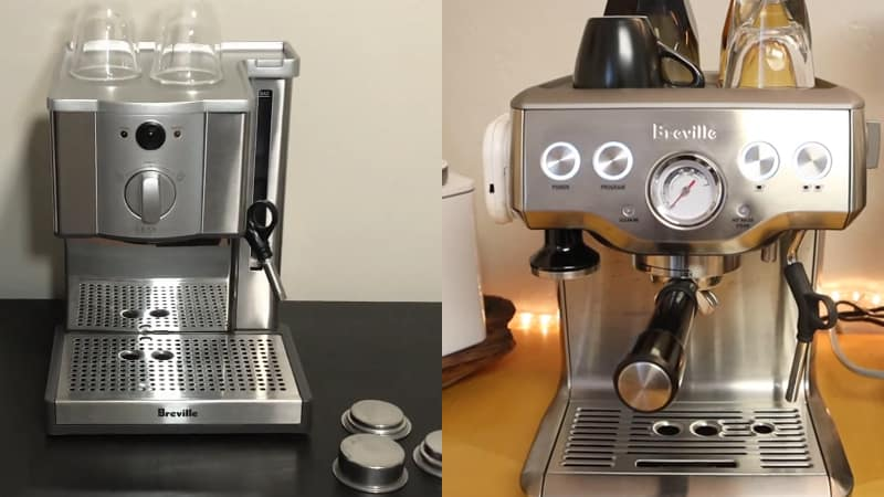 Breville Cafe Roma vs Infuser Comparison Review For Espresso Lovers
