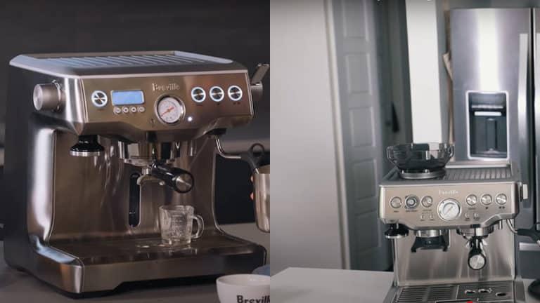 Breville Dual Boiler vs Barista Express: Detailed Comparison