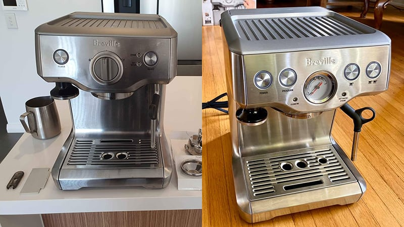 Breville Duo Temp Pro vs Infuser - Which Machine Better?
