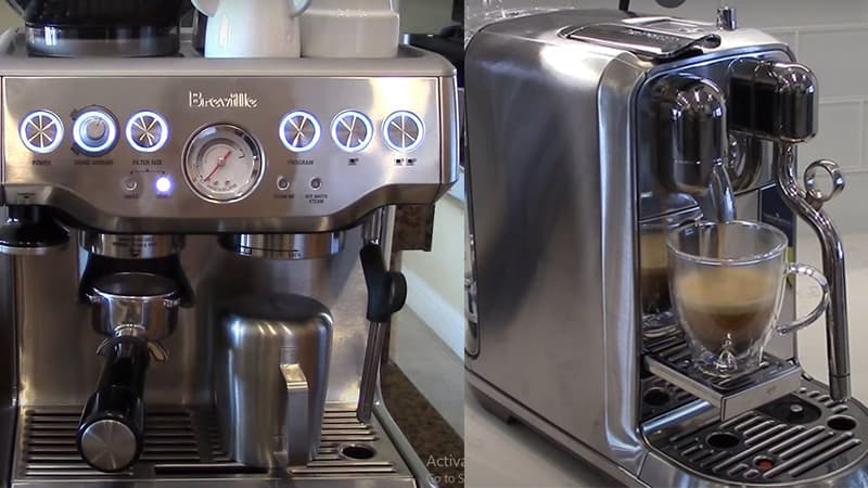 Breville Nespresso Creatista Plus vs Barista Express - Best Espresso Machine