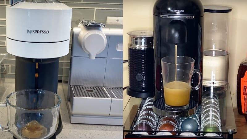 Breville Nespresso Vertuo vs DeLonghi Vertuo Next