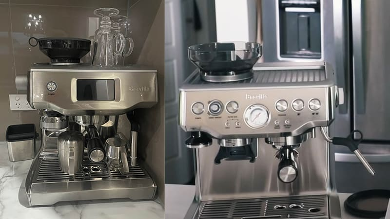 Breville Oracle Touch vs Barista Express - Best Comparison Review For Espresso