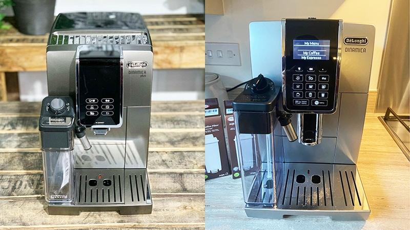 Delonghi Dinamica Plus vs Dinamica: Which Is The Best?