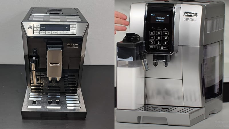 Delonghi Dinamica vs Eletta: What To Choose & Why?