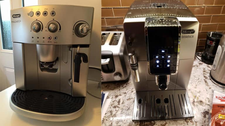 Delonghi Dinamica vs Delonghi Magnifica - The Best Bean To Cup Coffee Machine To Buy