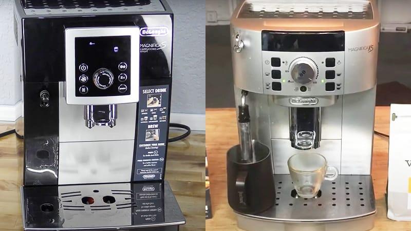 Differences Between Delonghi Magnifica S vs XS
