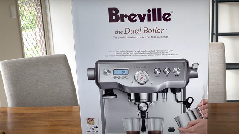 Features Of Breville Dual Boiler