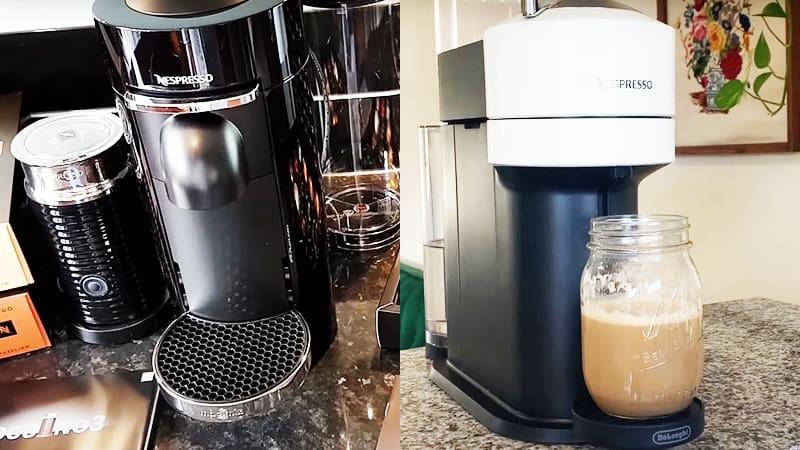 Key Differences Between Breville Nespresso Vertuo vs DeLonghi Vertuo Next