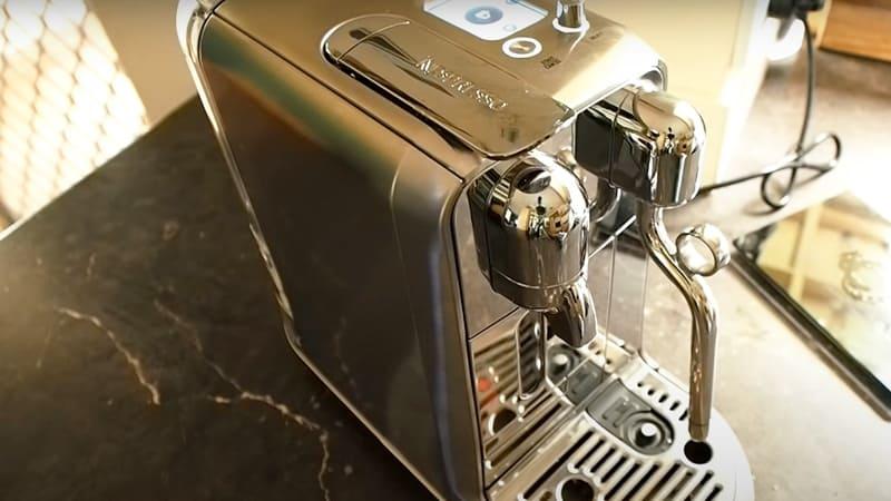 Single-Serve Functionality Of Breville Nespresso Creatista Plus