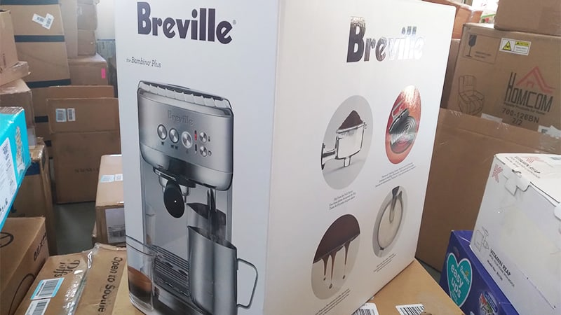 Unboxing Breville Bambino Plus