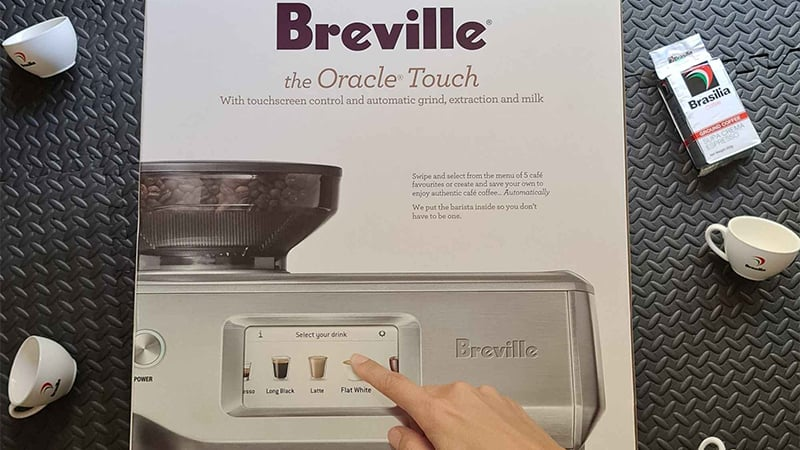 Unbox Breville Oracle Touch