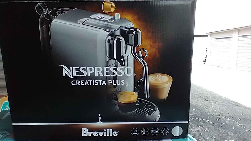 Version Of Breville Nespresso Creatista