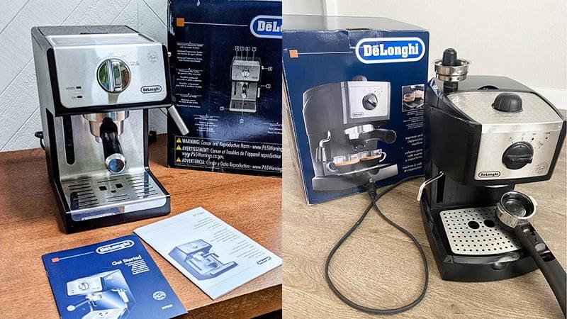 15 Bar Pump System Between DeLonghi EC155 vs ECP3420