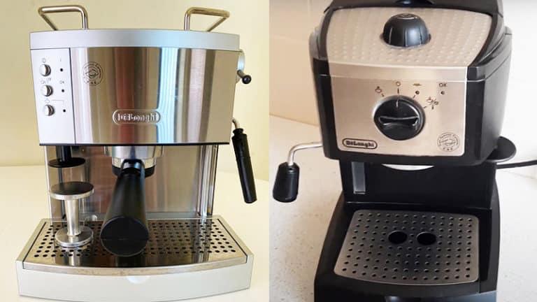 Delonghi EC702 vs EC155: How To Make Perfect Shot Espresso