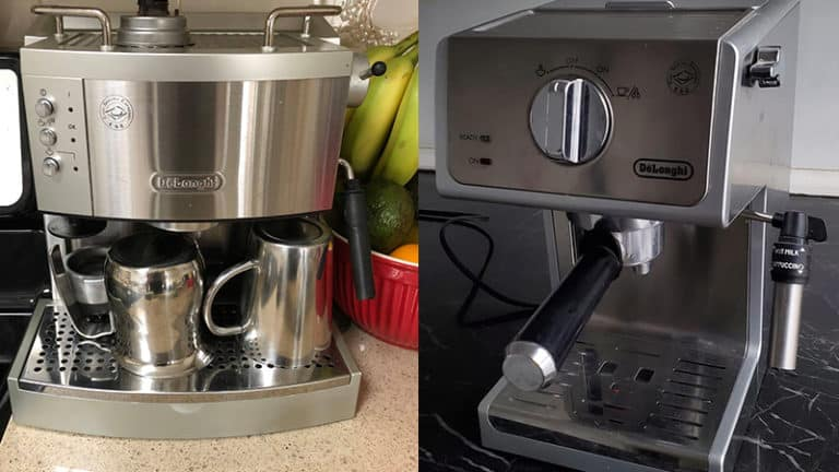 Delonghi EC702 vs ECP3620 Espresso Makers: Which Is Better?