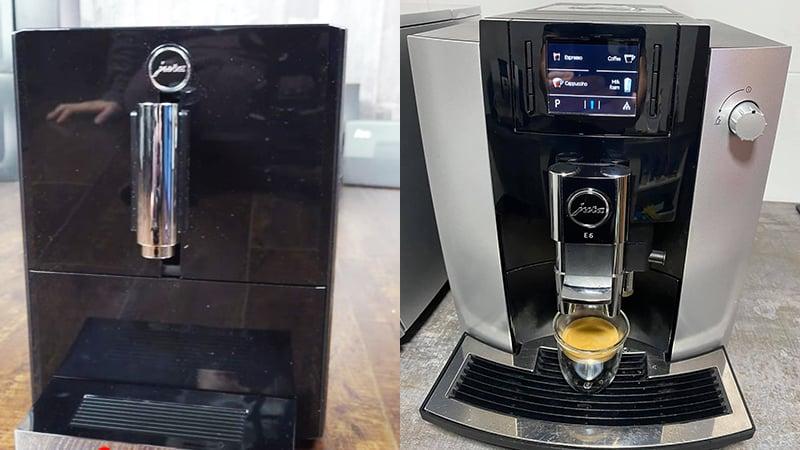 Design Comparison Between Jura A1 vs E6