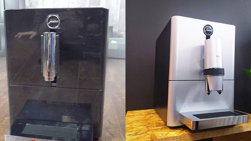 Design Comparison Between Jura A1 vs Ena Micro 5