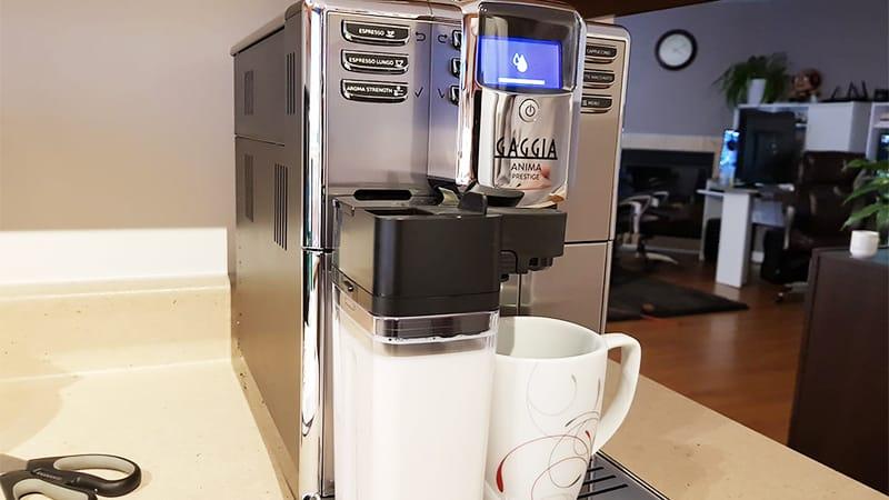 Design Of Gaggia Anima Prestige Automatic Espresso Machine