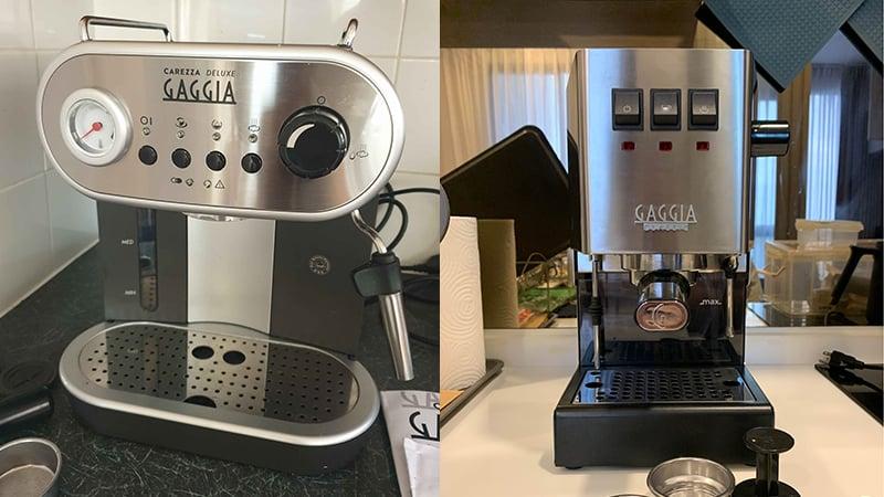 Gaggia Carezza Deluxe vs Classic Pro: Which Is For You?
