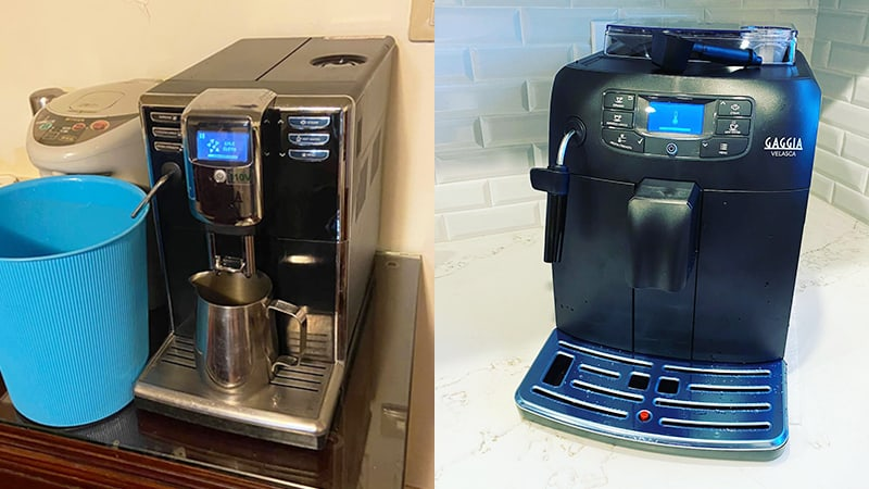 Stainless Steel Wand Of Gaggia Anima vs Velasca