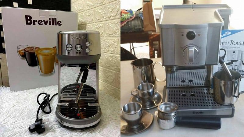 Breville Café Roma vs Bambino: Affordable & Compact Pick
