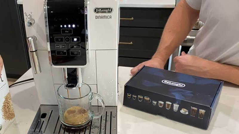 De'Longhi Dinamica ECAM35025SB Heat-up Time