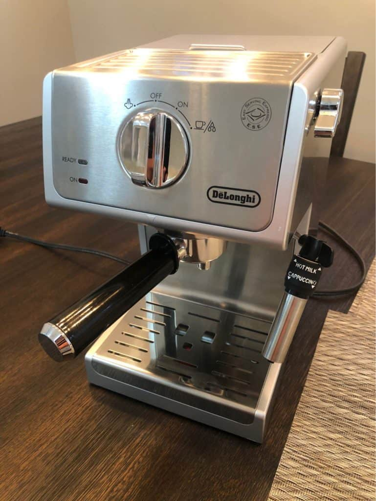 Delonghi ECP3620 is an extremely affordable entry-level coffee machine