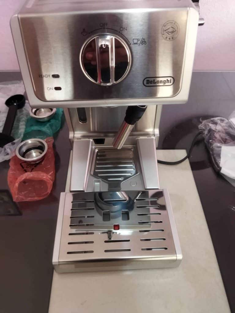 ECP3630 offers more space for taller cups