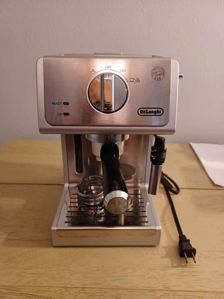 ECP3630 pulls good espresso shots