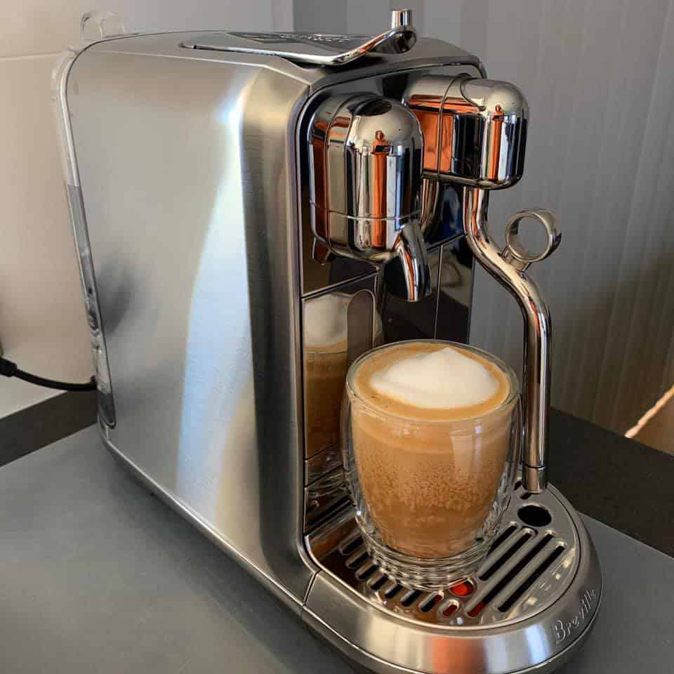 Nespresso Creatista Plus Programmability