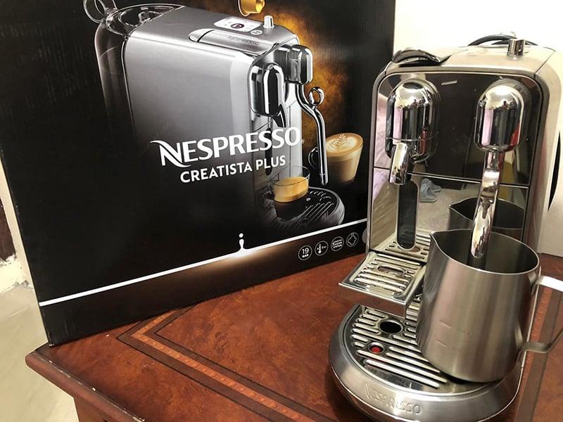 Nespresso Creatista Plus Type Of Espresso Machine