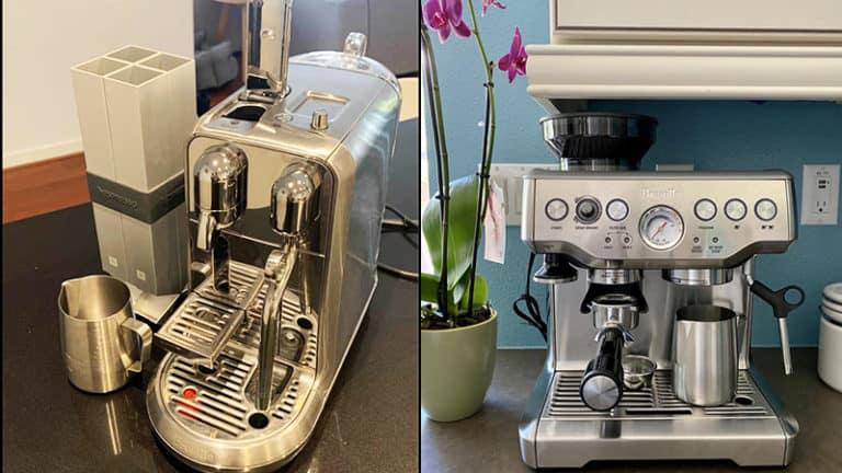 Nespresso Creatista Plus vs Breville Barista Express Review