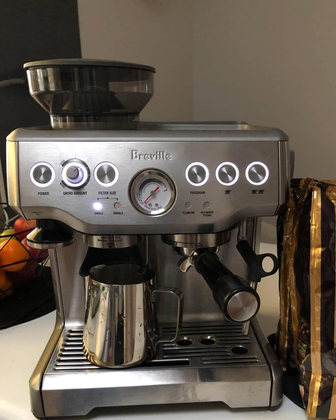 Barista Express is operating