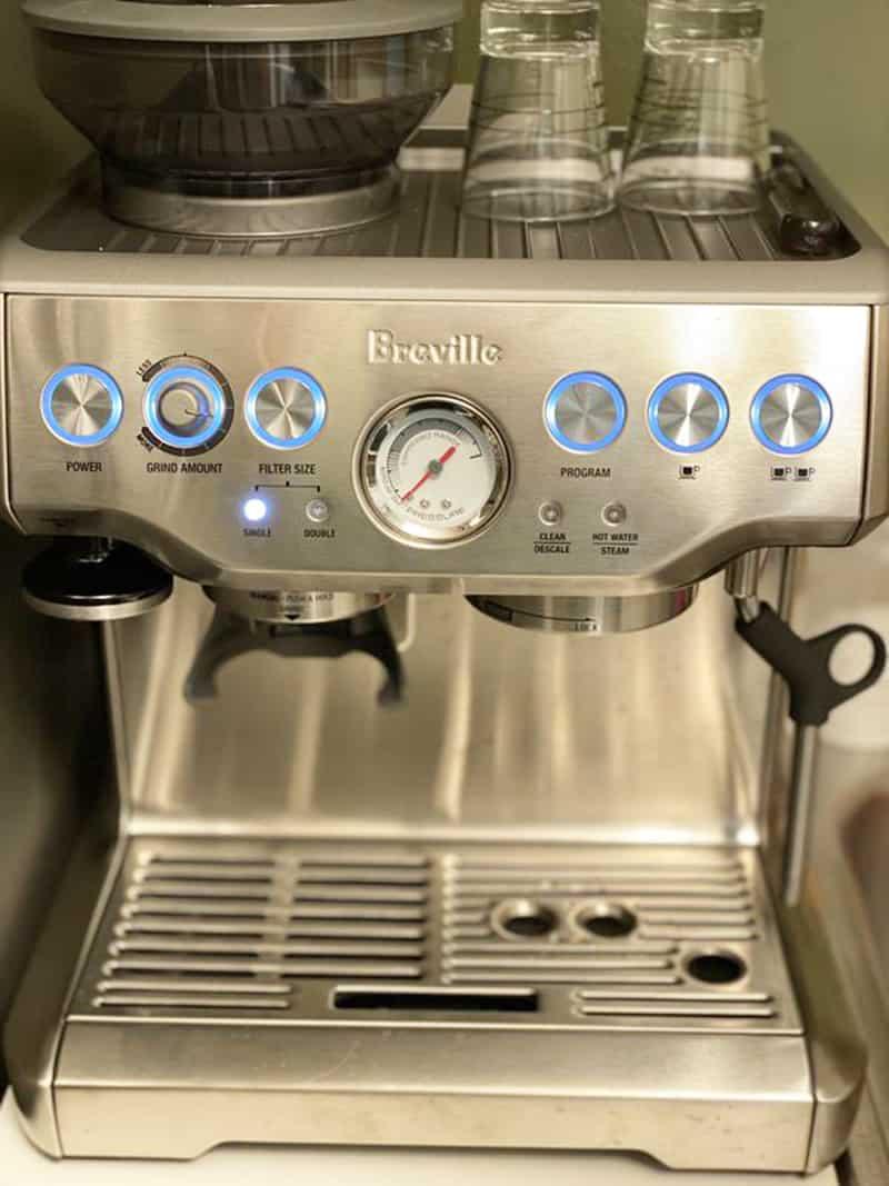 Breville Barista Express Temperature