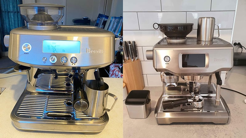 Breville Barista Pro vs Oracle Review: 6 Key Differences
