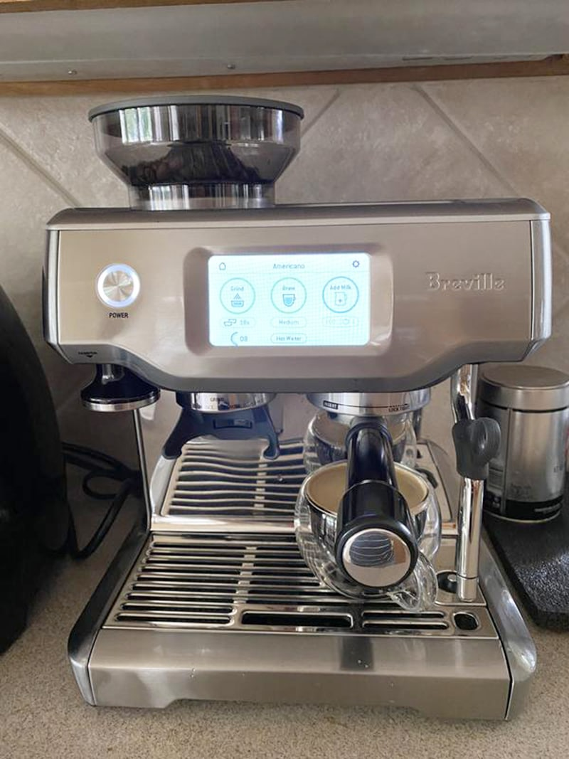 Breville Barista Touch Water Filtration