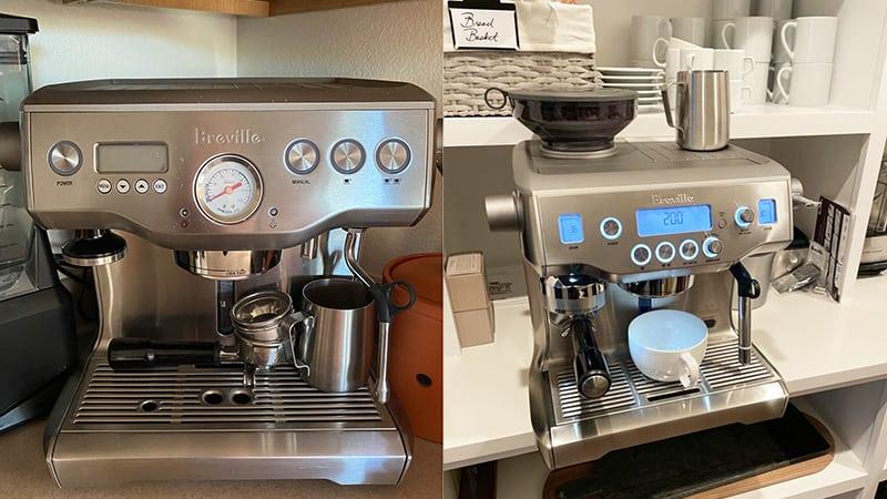 Breville Dual Boiler vs Oracle: Espresso Machines Home Use