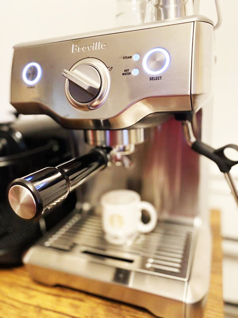 Breville Duo Temp Pro Heating System