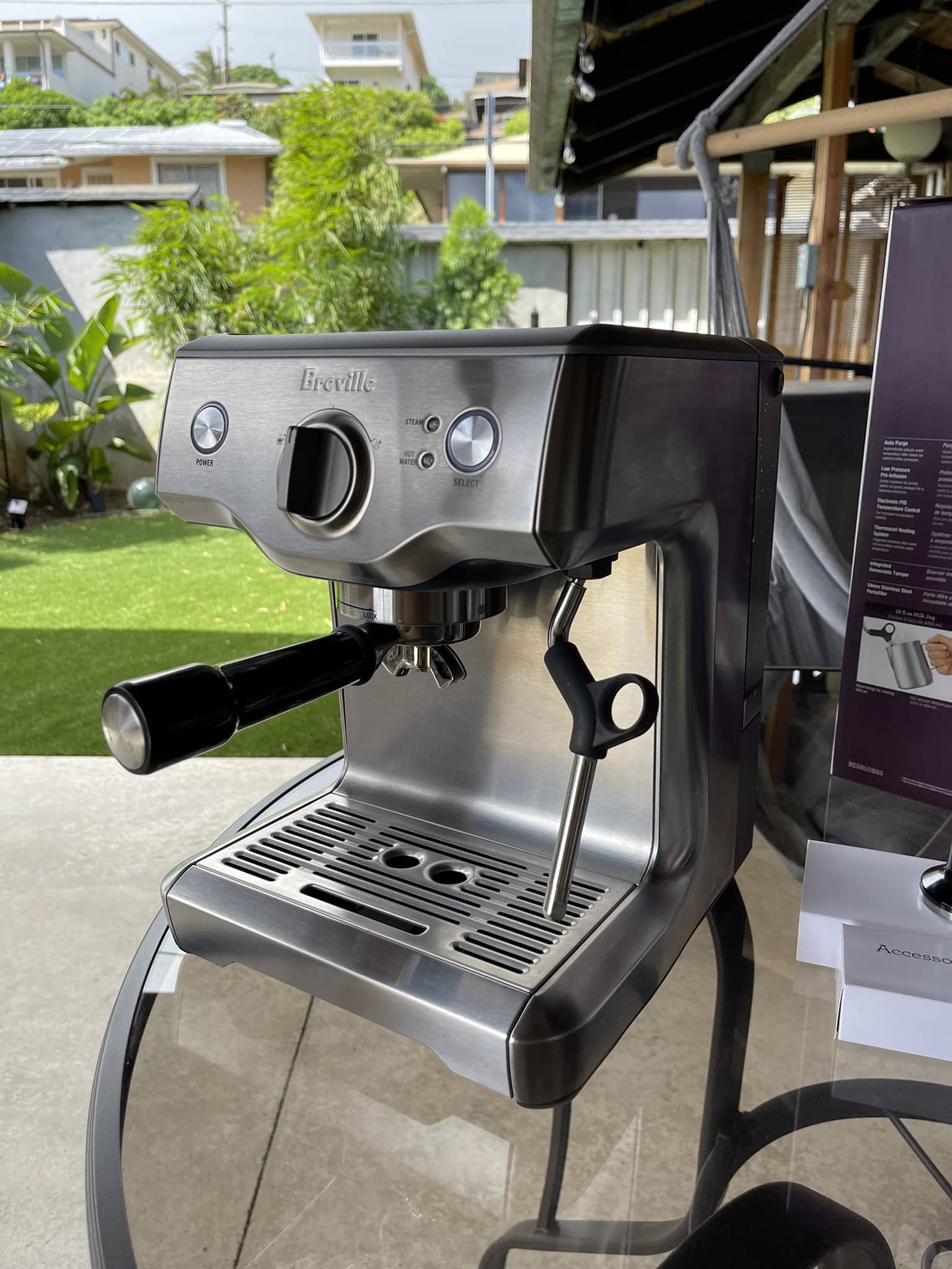 Breville Duo Temp Pro offers consistent espresso quality with nice crema