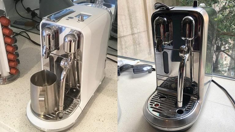 Breville Nespresso Creatista Plus vs Nespresso Creatista