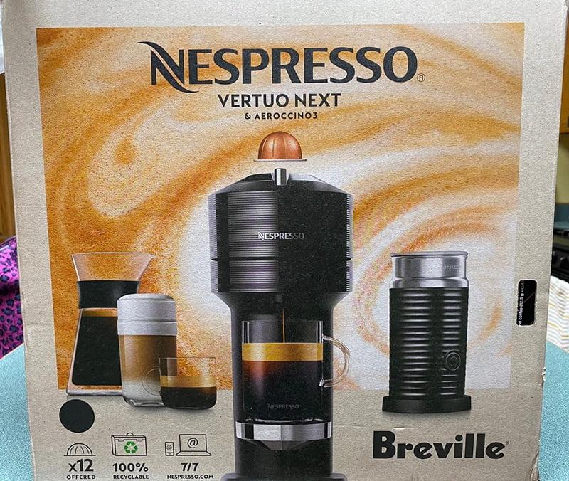 Breville Nespresso Vertuo Next Release Year