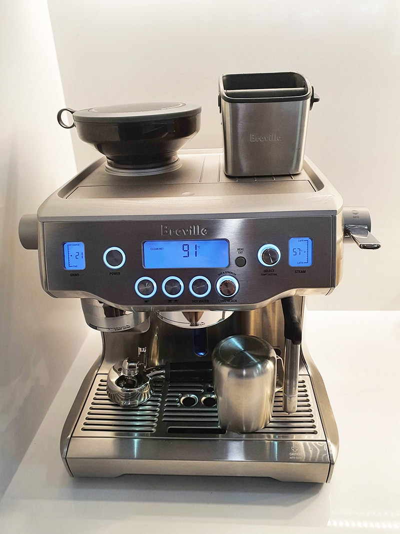 Breville Oracle Size