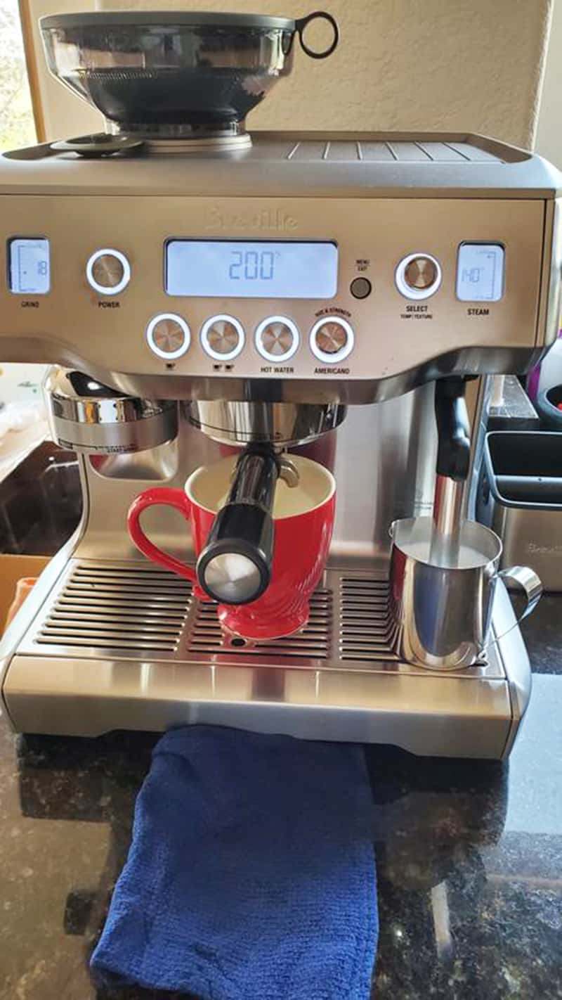 Breville Oracle Steaming