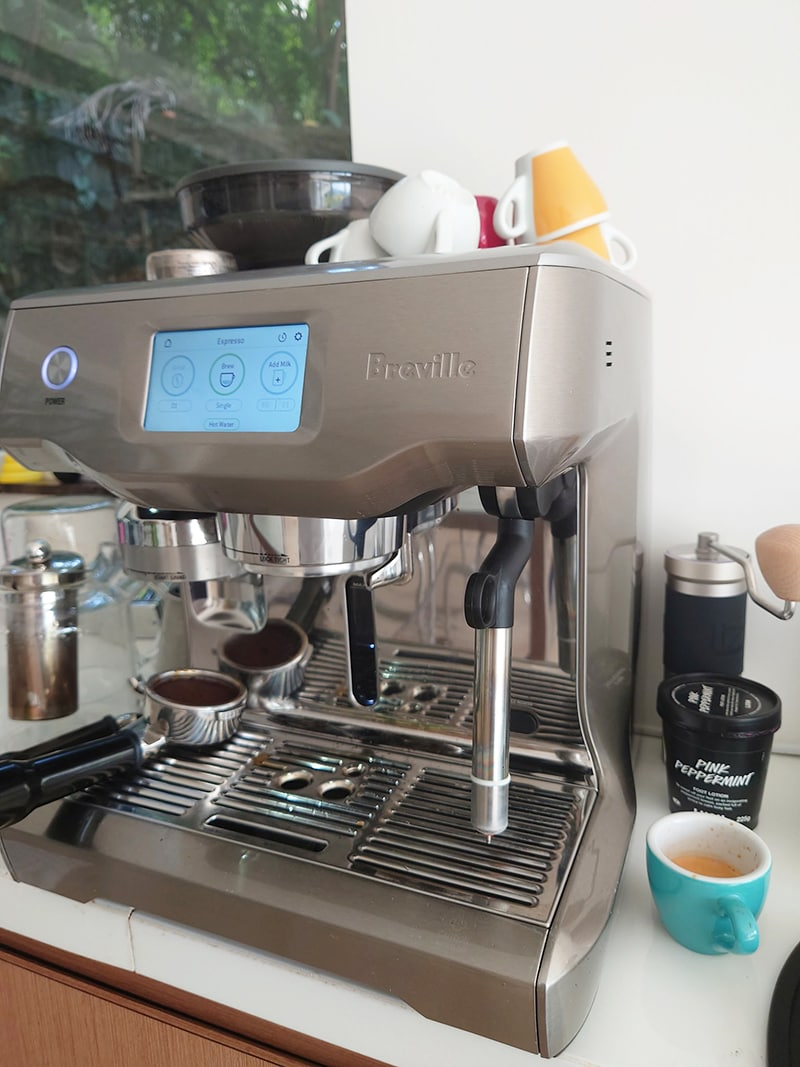 Breville Oracle Touch Adjustability