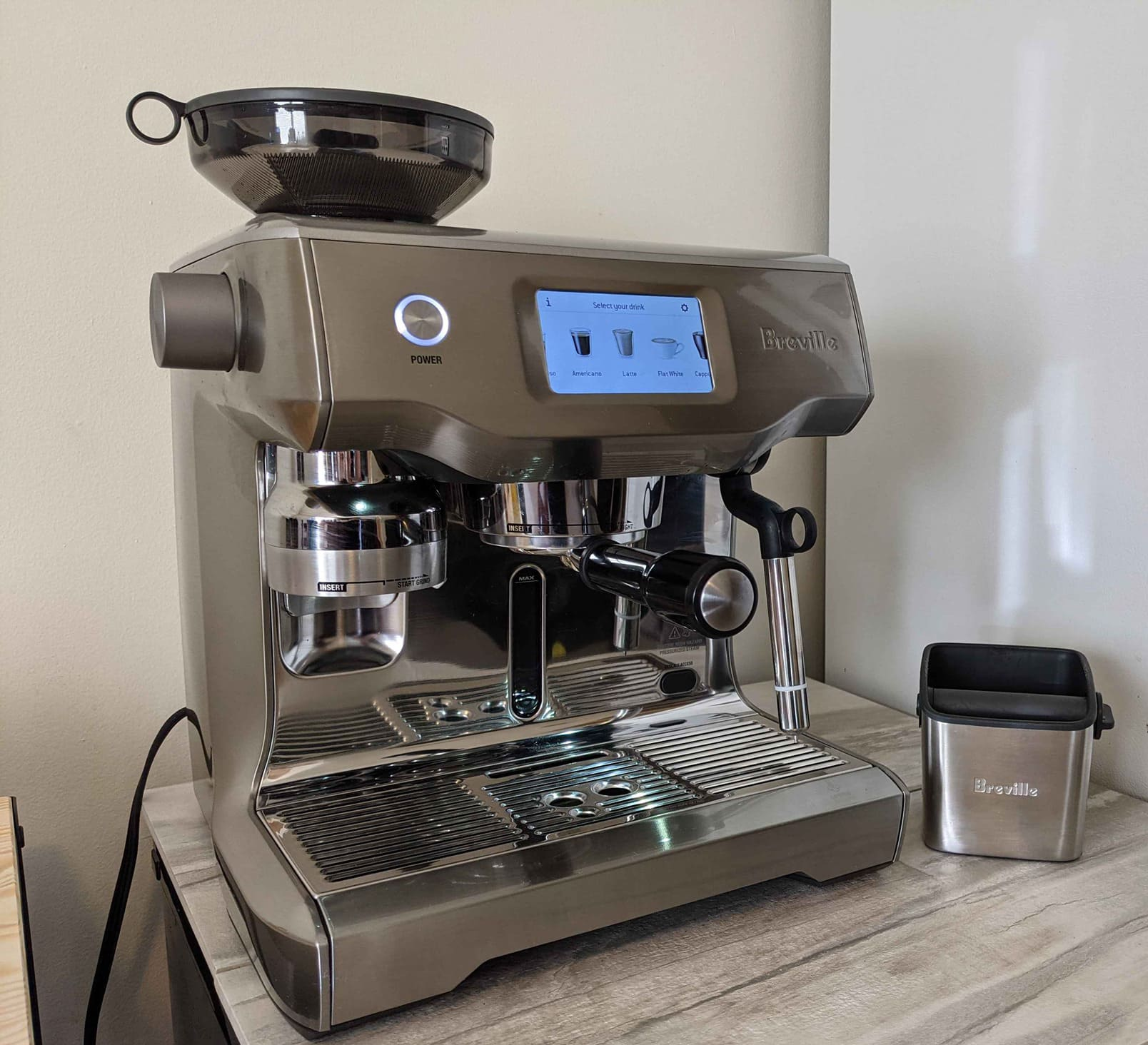 Breville Oracle Touch Customized User Profiles